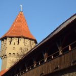 Hermannstadt Sibiu Turm und Stadtmauer