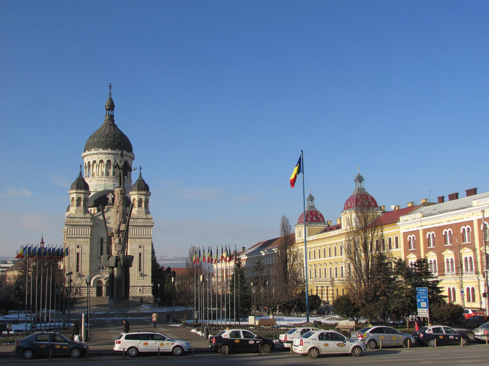 In Klausenburg (Cluj-Napoca) die Kultur und rumänische